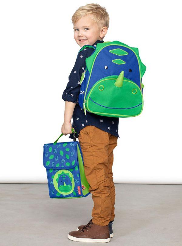 Skip Hop Zoo Παιδική Ισοθερμική Τσάντα Δεινόσαυρος 03