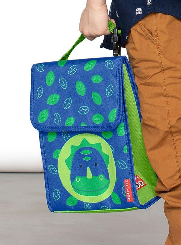 Skip Hop Zoo Παιδική Ισοθερμική Τσάντα Δεινόσαυρος 04