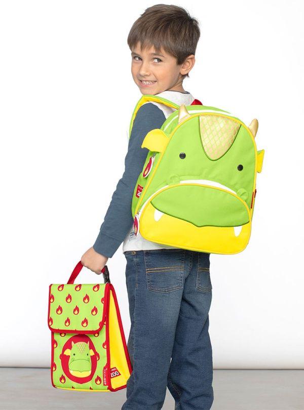 Skip Hop Zoo Παιδική Ισοθερμική Τσάντα Δράκος 03