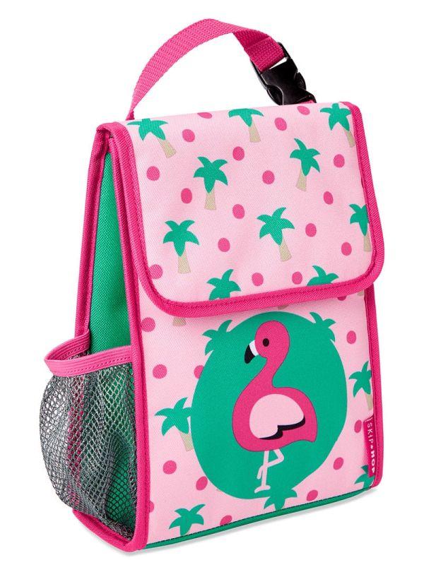 Skip Hop Zoo Παιδική Ισοθερμική Τσάντα Φλαμίνγκο 01