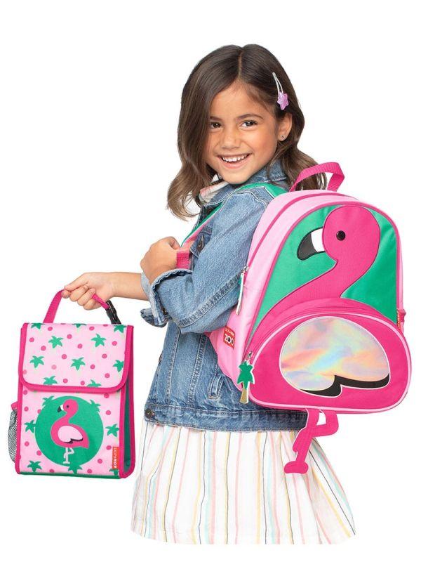 Skip Hop Zoo Παιδική Ισοθερμική Τσάντα Φλαμίνγκο 03