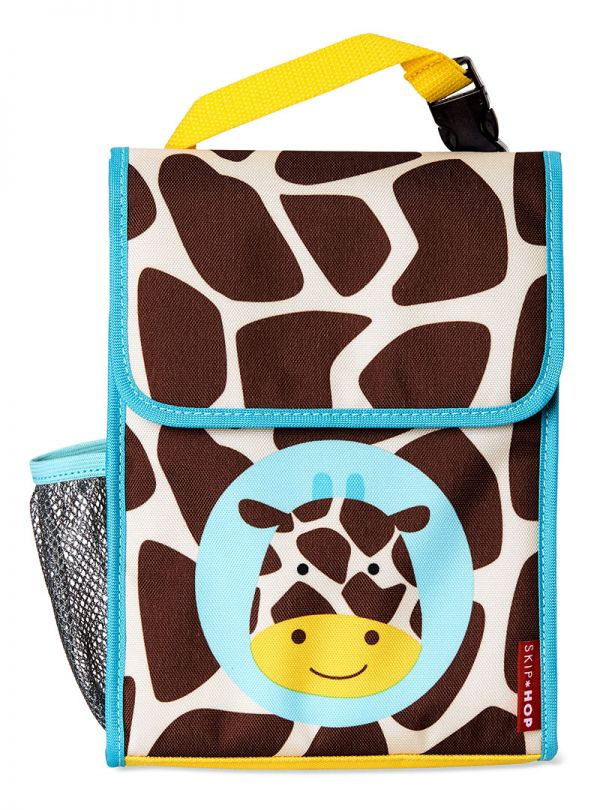 Skip Hop Zoo Παιδική Ισοθερμική Τσάντα Καμηλοπάρδαλη 02