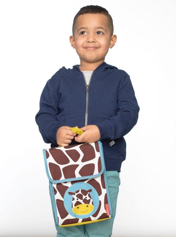 Skip Hop Zoo Παιδική Ισοθερμική Τσάντα Καμηλοπάρδαλη 03