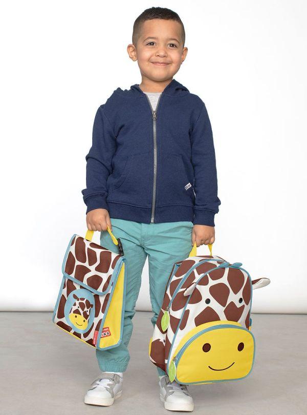 Skip Hop Zoo Παιδική Ισοθερμική Τσάντα Καμηλοπάρδαλη 04