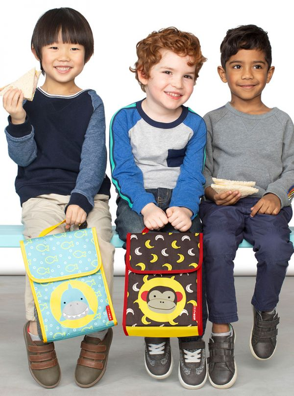 Skip Hop Zoo Παιδική Ισοθερμική Τσάντα Μαϊμού 03