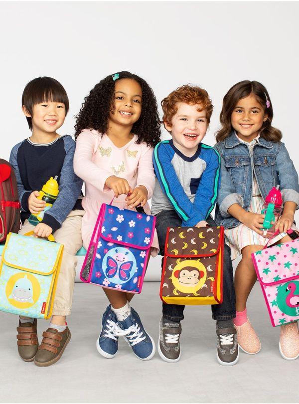 Skip Hop Zoo Παιδική Ισοθερμική Τσάντα Μαϊμού 04