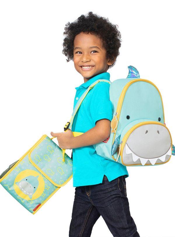 Skip Hop Zoo Παιδική Ισοθερμική Τσάντα Καρχαρίας 03